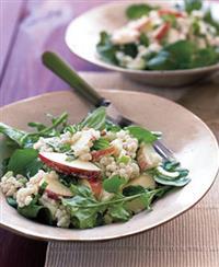 Barley Salad With Apples Recipe