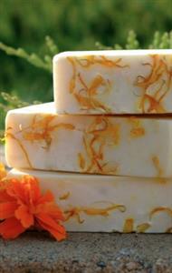 Calendula Petals Scent Free Soap