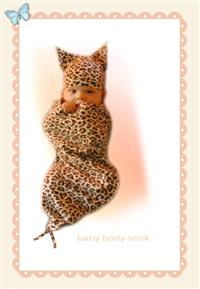 Comfortable Cocoon Organic Leopard Cocoon
