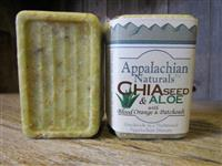 Green Chia Seed & Aloe Natural Soap
