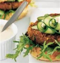 Healthy Lentil Burger Patties Recipe