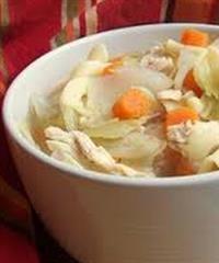 Healthy Thai Chicken Cabbage Soup Recipe
