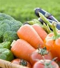 Local Organic Vegetables and Fruit