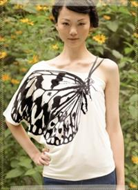Organic Butterfly Wing Shirt