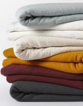 Organic Dobby Weave Blanket