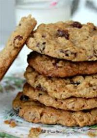 Organic Oatmeal and Raisin Cookies Recipe