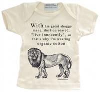 Organic Savannah Lion Baby T-Shirt