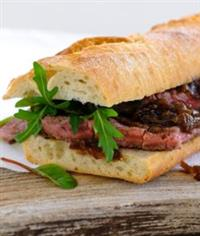 Steak and Bacon Sandwich Recipe