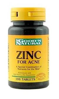 Zinc Supplements for Acne